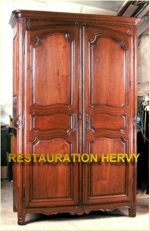 restauration de meuble hervy